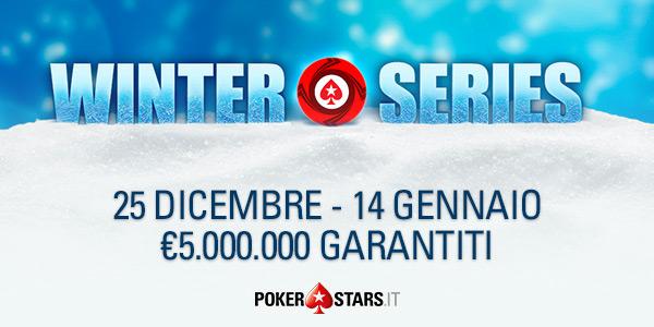 Poker Stars montepremi da 8 milioni di euro per Natale