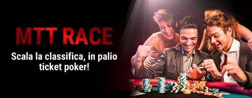 6000 euro in palio ler l'MTT RACE